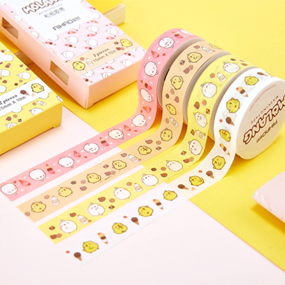 Picture of Molang Washi Tape 2-Pack