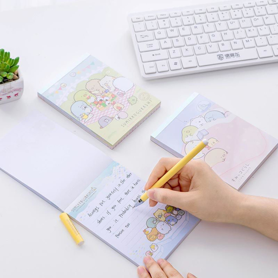 Corocoro Coronya and Sumikko Gurashi Notepad