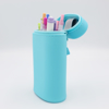 LIHIT LAB Smart Fit Oval Stand Pen Cases - blue