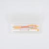 Porta-lápis transparente