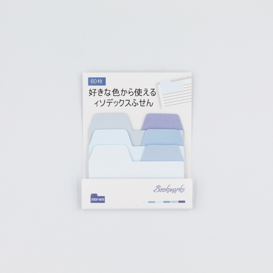 Post-its Gradient Index - blue