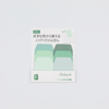 Post-its Gradient Index - green