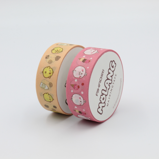 Molang Washi Tape 2-Pack