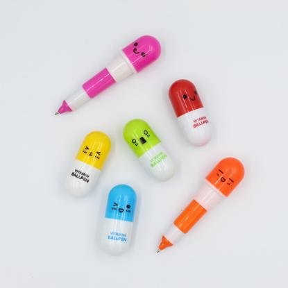 Vitamin-Pill-Ballpoint-Pen
