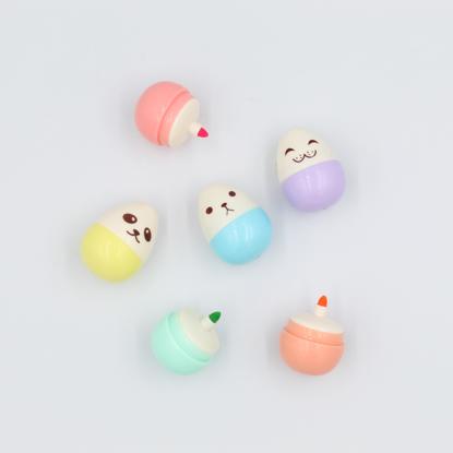 6 Kawaii Mini Egg Markers