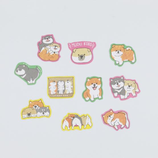 Kawaii Shiba Inu Sticker Pack