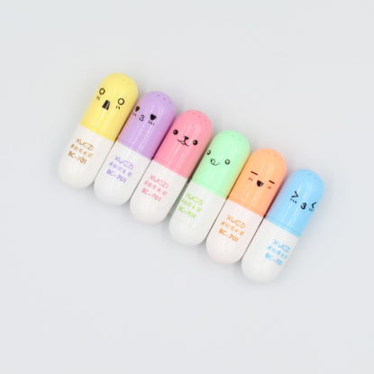 Vitamin Pill Highlighter Set