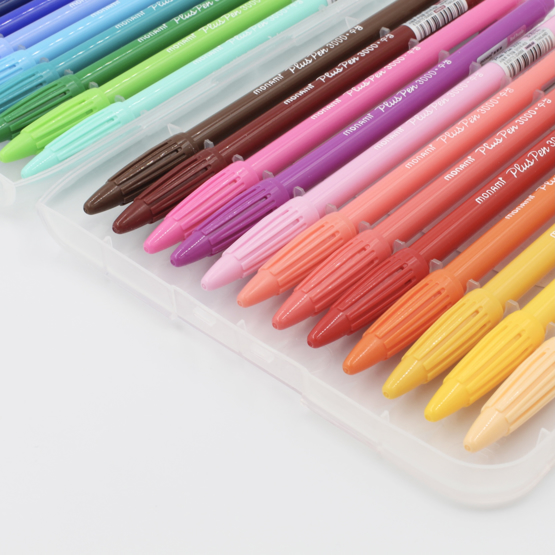 Fineliners Monami Plus Pen 3000 - Conjunto 24