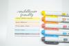 Zebra Mildliner Brush Pens - Conjunto Friendly