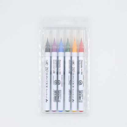 Clean Color Real Brush - conjunto 6 cores