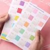 Calendar index stickers