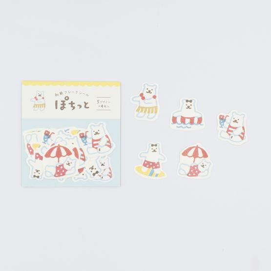 Autocolantes Japanese Paper - Urso