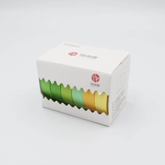 6 Washi Tapes colourful